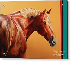 The Destrier Acrylic Print