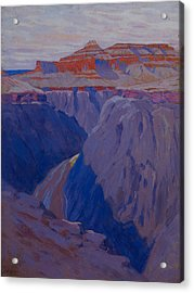 The Destroyer Acrylic Print by Arthur Wesley Dow