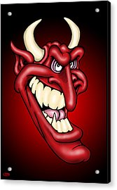 The Devil Acrylic Print