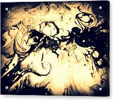 The Devil Smoking Acrylic Print