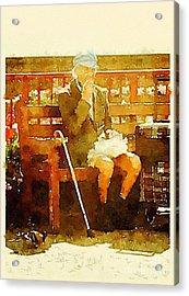 The Devonshire Man Acrylic Print