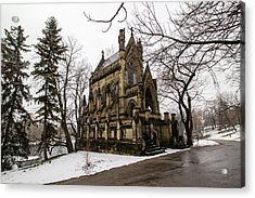 Acrylic Print featuring the photograph The Dexter Mausoleum by Cathy Donohoue
