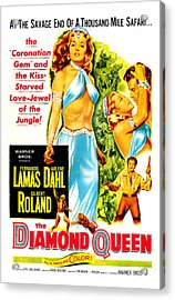 The Diamond Queen, Us Poster, From Left Acrylic Print