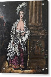The Dishonorable Mrs. Graham Acrylic Print by Christopher Winkler