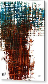 Acrylic Print featuring the painting The Divine In Us 265.111011 by Kris Haas