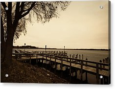 The Docks On Lake Minnetonka Acrylic Print