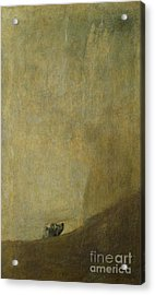 The Dog Acrylic Print by Goya