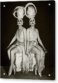 The Dolly Sisters Acrylic Print