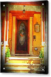 The Door 1 Acrylic Print by Becky Lupe