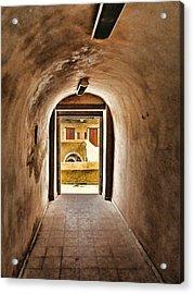 The Door 2 Acrylic Print by Dhouib Skander