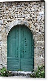 The Door In The Wall Acrylic Print