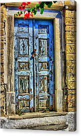The Door Acrylic Print