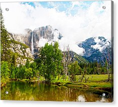 The Door To Heaven Above Yosemite National Park Acrylic Print