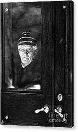 The Doorman Acrylic Print by Andrea Simon