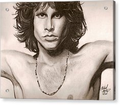 The Doors Acrylic Print by Michael Mestas