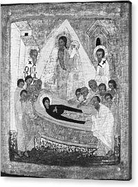 The Dormition Of The Virgin Acrylic Print