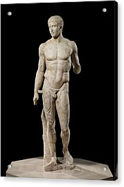 The Doryphoros Of Polykleitos Acrylic Print