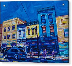 The Downtown Acrylic Print