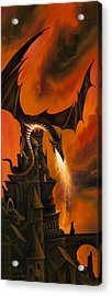 The Dragon's Tower Acrylic Print