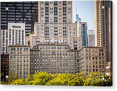 The Drake Hotel In Downtown Chicago Acrylic Print by Paul Velgos