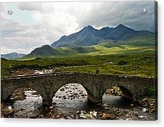 The Dramatic Isle Of Skye Acrylic Print