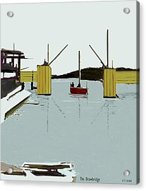 The Drawbridge   Number 4 Acrylic Print