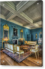 The Drawing Room Acrylic Print by Ian Mitchell