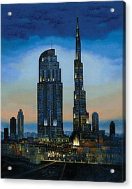 The Dream City Acrylic Print