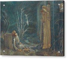 The Dream Of Lancelot Acrylic Print