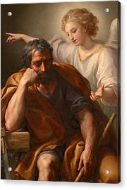 The Dream Of St Joseph Acrylic Print