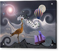 The Dream Voyage - Mad World Series Acrylic Print