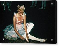The Dress Rehersal Acrylic Print