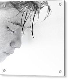 The Drop Acrylic Print