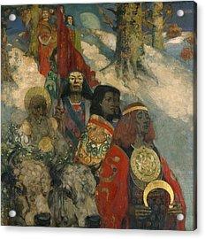 The Druids - Bringing In The Mistletoe Acrylic Print