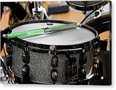 The Drum Acrylic Print by David Patterson