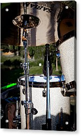 The Drum Set Acrylic Print by David Patterson
