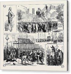 The Dublin Police Strike 1. A Usurper 2 Acrylic Print