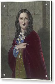 The Duchess Acrylic Print by British Library