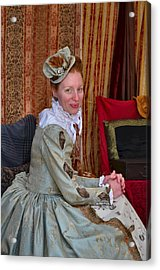 The Duchess Acrylic Print by Julie Dant