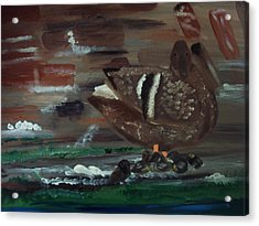The Duck Acrylic Print