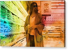 The Dude Acrylic Print by Dan Sproul