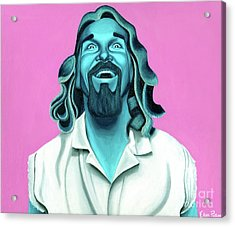 The Dude Acrylic Print by Ellen Patton