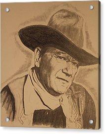The Duke Acrylic Print by Michael McGrath