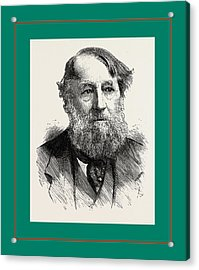 The Duke Of Rutland Acrylic Print