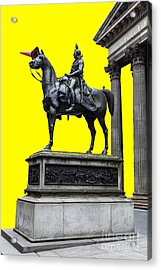 The Duke Of Wellington Yellow Acrylic Print by John Farnan