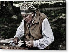 The Dulcimer Man Acrylic Print