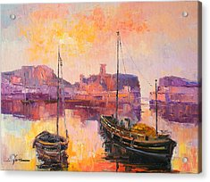 The Dunbar Harbour Acrylic Print
