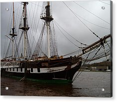 Acrylic Print featuring the photograph The Dunbrody by Alan Lakin