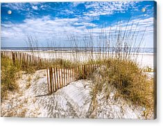 The Dunes Acrylic Print by Debra and Dave Vanderlaan