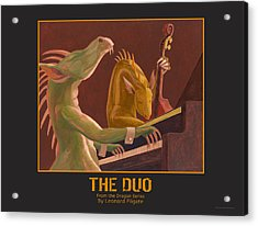 The Duo Acrylic Print